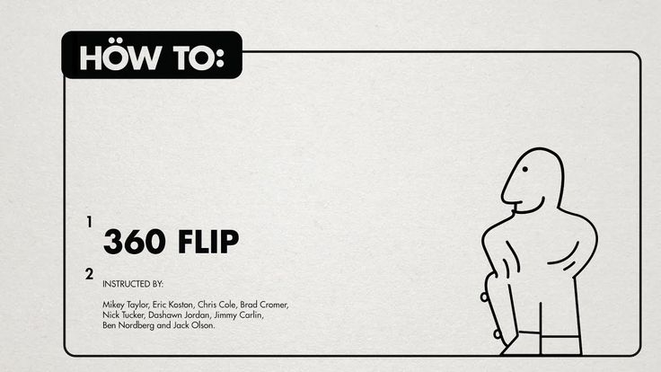 HOW TO: - 360 FLIP