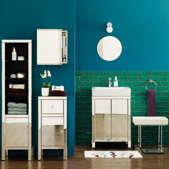 like these colors....too dark though...small bathroom color ideas - Google Search
