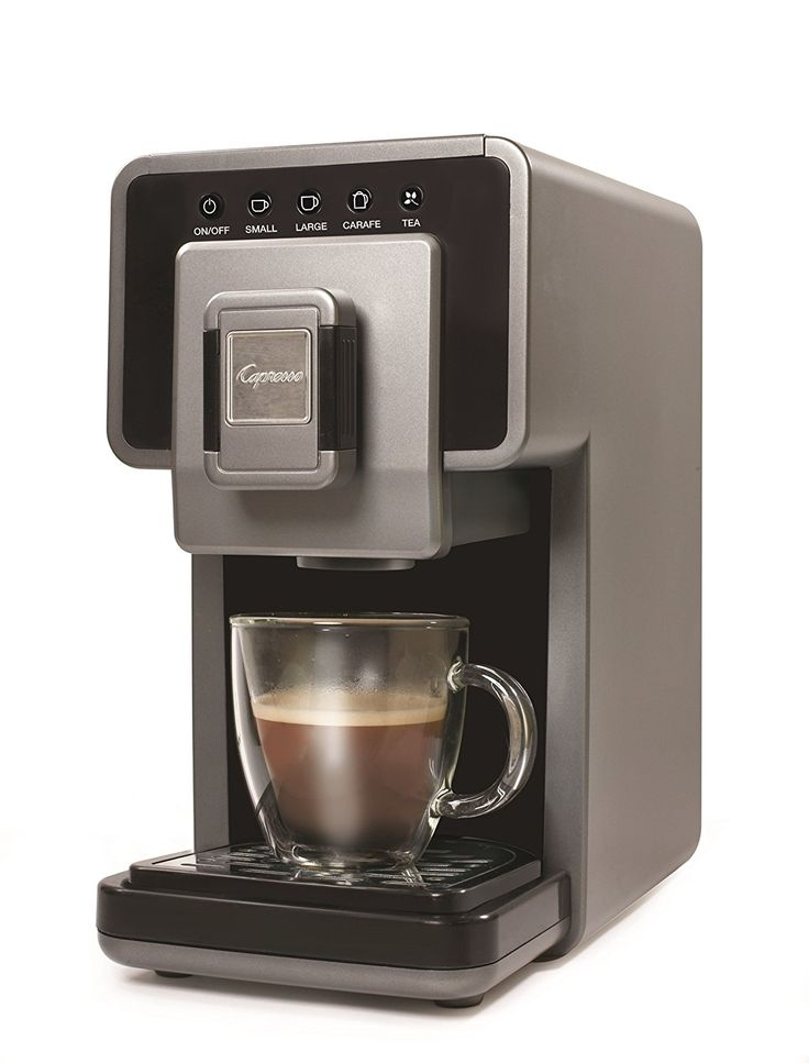Capresso Coffee a la Carte Cup-to-Carafe Coffee and Tea Maker, Sliver >>> You can get more details here : Coffee Maker