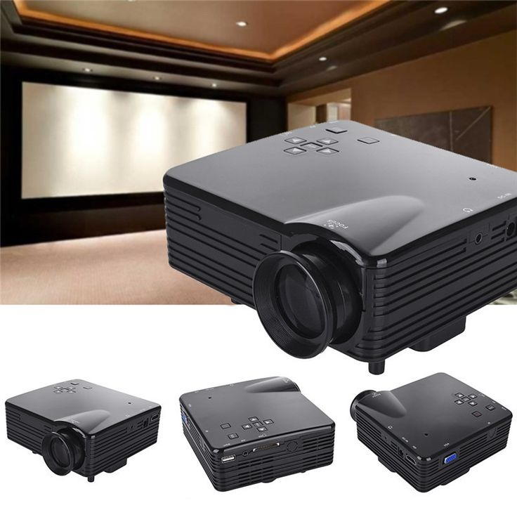 ==> [Free Shipping] Buy Best Hot Sale Mini LED Portable Projector 500LM Audio 320 x 240 Pixels HD Low Noise Power Family Mini Home Media Player Projector Online with LOWEST Price | 32818539840