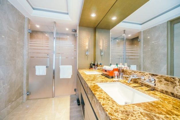 See here some of top notch designs of bathroom vanities. #BathroomVanities #Vanities