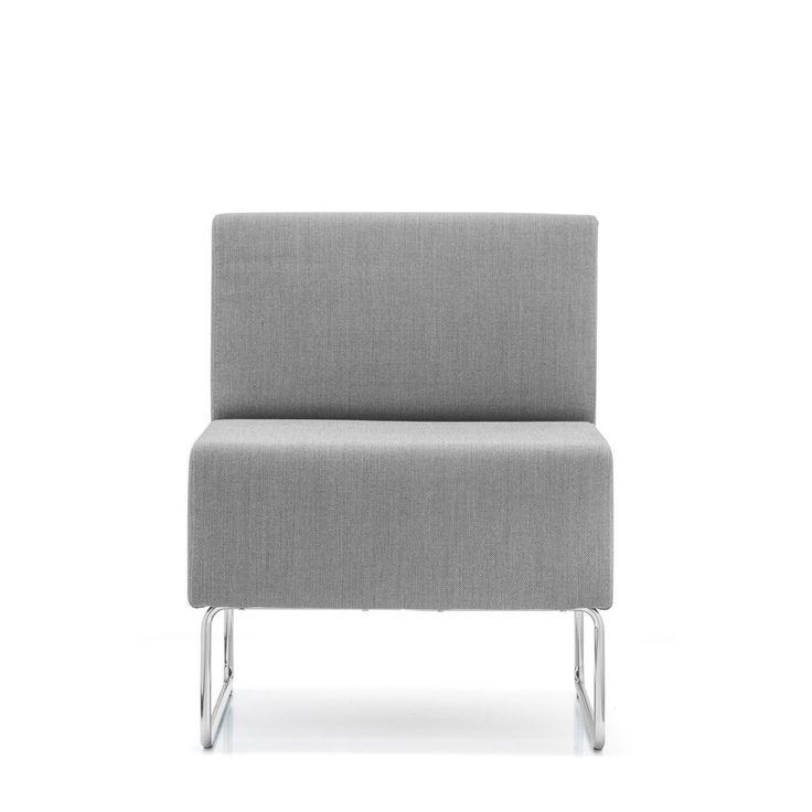Pedrali Sillón modular Host 201 Sillón modular individual Host 201 de Pedrali. Perteneciente a la colección Host este cómodo sillón modular es perfecto para...