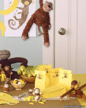 Cute Ideas for a Monkey Party