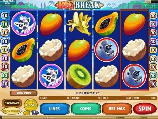 Big Break – Free Slot Game  http://www.onlinecasinoguru.com/?p=47320