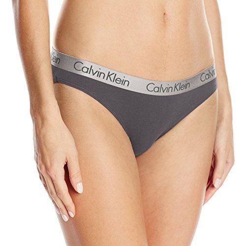 Calvin Klein Women's Logo Cotton Bikini, Ashford Grey, Medium  Calvin klein logo waistbandCotton gusset  http://dailydealfeeds.com/shop/calvin-klein-womens-logo-cotton-bikini-ashford-grey-medium/