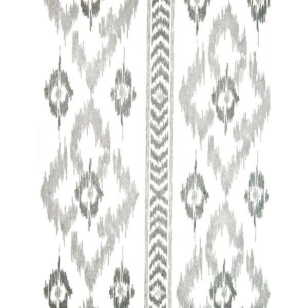 Bernard Thorp Chevron Diamond Wallpaper ($60) ❤ liked on Polyvore featuring home, home decor, wallpaper, backgrounds, patterns, white wallpaper, ikat wallpaper, chevron pattern wallpaper, zig zag wallpaper and white pattern wallpaper