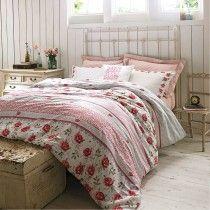 Emma Bridgewater Rose & Bee Double Quilt Cover, Multi