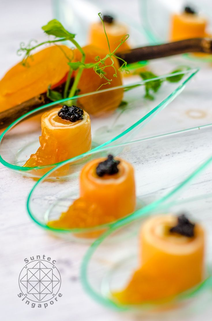 1000 images about create your own menu with 12 canap s at for Smoked salmon roulade canape