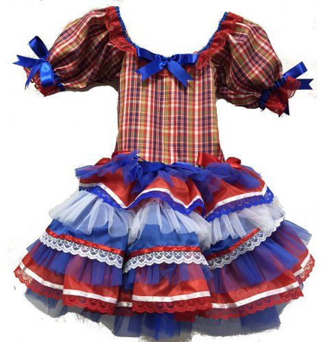 vestido caipira infantil chic - Pesquisa Google