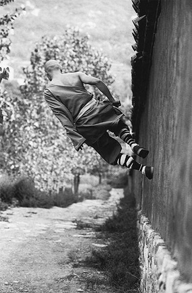 Shaolin Strollin' by Tomasz Gudzowaty via designyoutrust #Shaolin_Monk