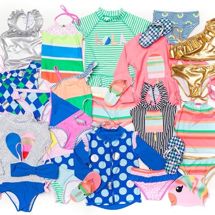 SWIM GALORE! Our NEW Swim Range has arrived! Click the image to shop NOW! #cottononkids #swimwear #kidsswim #babyswim
