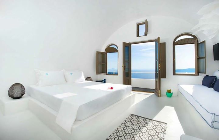 Greek island interiors