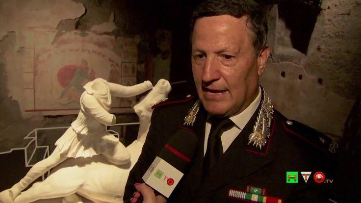 L'Arma per l'Arte e la Legalità - Intervista al Gen. Mariano Mossa - www...