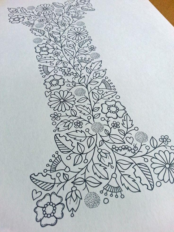Letter I illustration by Suzy Taylor