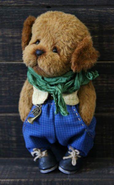 Puppy plush Bagel By Elena Korotkova - Bear Pile