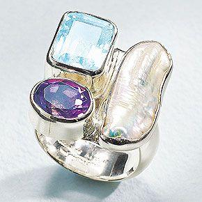 One of my favorite designers Charles Albert....: Statement Rings, Multi Stone Ring, Distinctive Jewelry, Fashion Jewelry, Stone Rings, Jewelry Rings, Albert Jewelry, Jewelry Designer