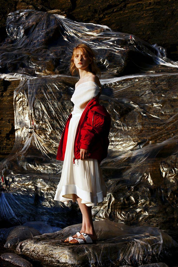 Maja Salamon by Arnaud Lajeunie for Husk Magazine #11 Fall 2013