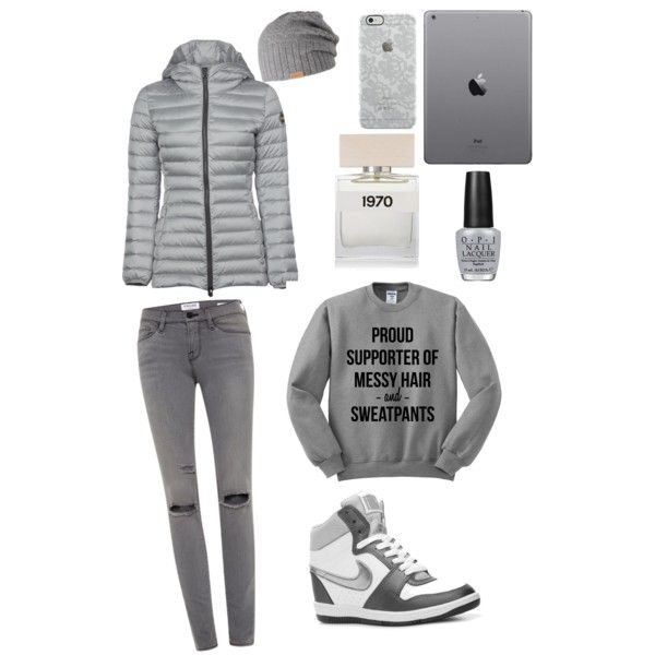 A fashion look from February 2015 featuring Colmar jackets, Frame Denim jeans and NIKE sneakers. Browse and shop related looks.