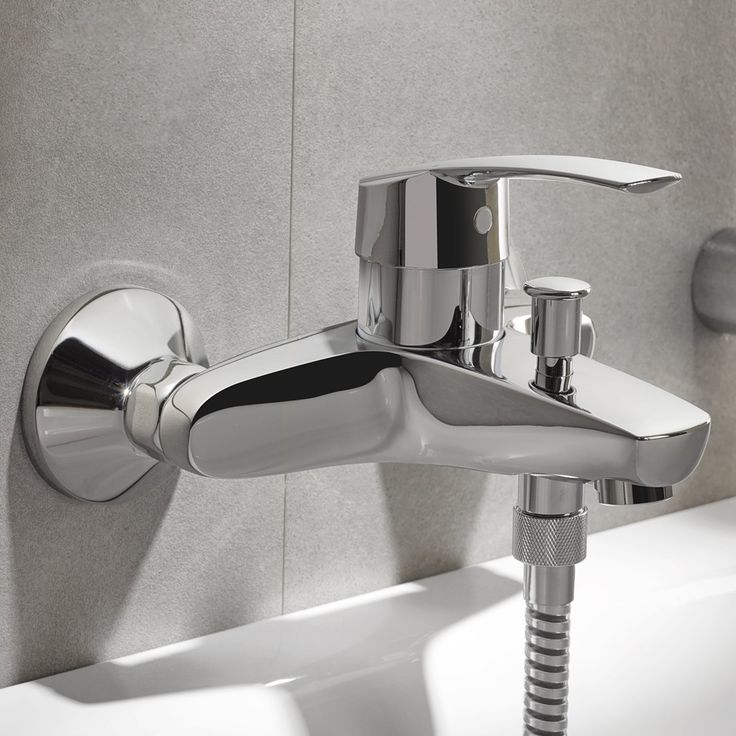 GROHE Eurostyle 33591001 Смеситель для ванны.    http://www.santehmag.ru/category/smesiteli-grohe-eurostyle/  GROHE Eurostyle - Коллекция смесителей для ванной комнаты