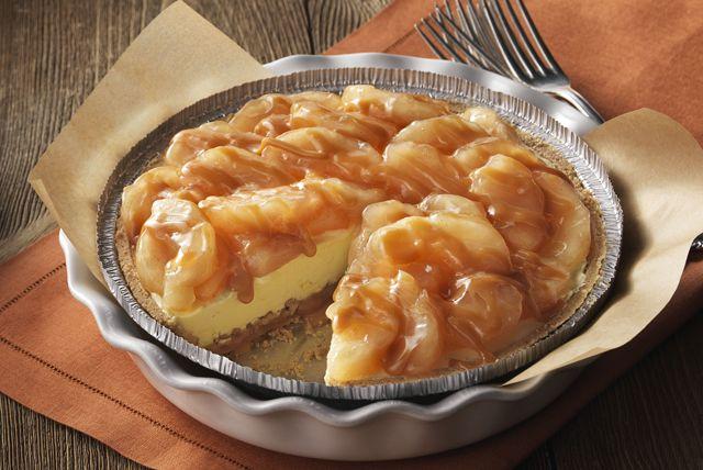 Le caramel et les pommes - le duo parfait pour ce dessert savoureux.