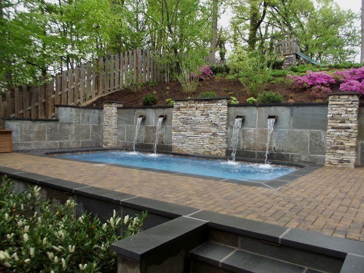 Commercial Landscaping Companies Near Me Sloped Backyard Small Backyard Pools Sloped Yard