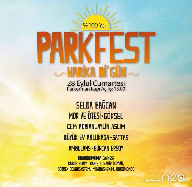 Parkfest 28 Eylül 2013 13:00 Parkorman, İstanbul