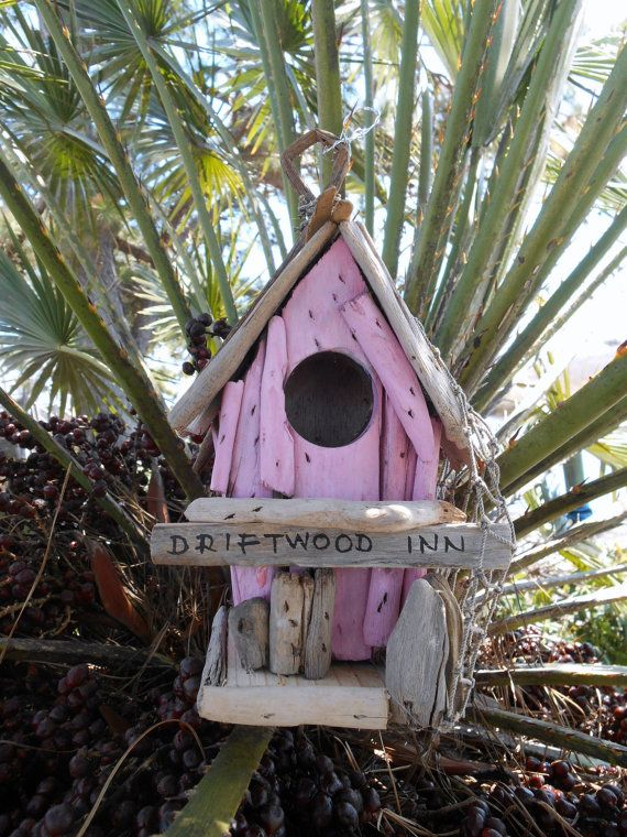 Nautical Driftwood Birdhouse. Driftwood Inn. by searchnrescue2, $35.00