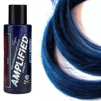 Manic Panic Amplified hair dye in After Midnight Blue