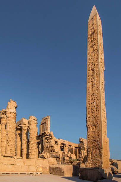 Hatchepsut's obelisk, Temple Of Karnak, Luxor, Egypt