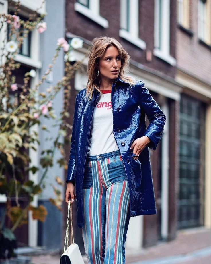 The coolest #StreetStyle Look of the Day by our fave #RebeccaLaurey