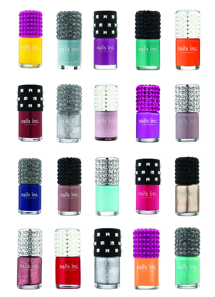 Couture by Nails Inc has arrived in the U.S.! Bring on the bling. // Available at www.nailsinc.com