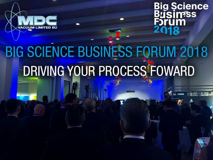 MDC Vacuum Ltd. (Europe) is excited to be at the Big Science Business Forum 2018 (BSBF2018)! BSBF2018 is being held at the Tivoli Hotel & Congress Centre in Copenhagen, Denmark and lasts until Wednesday, February 28. This forum will be the first one-stop-shop for European companies and other stakeholders to learn about Europe's Big Science organizations' future investments and procurements worth billions of euros. Be sure to stop by our booth to meet with the vacuum science experts from the…
