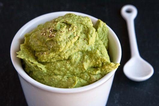 Avocado Hummus. Two amazing foods, combined!