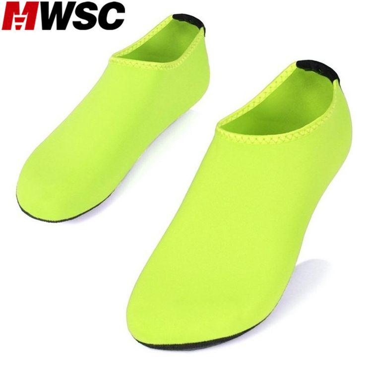 MWSC 2017 Summer New Chaussure Femme Women Water Shoes Aqua Slippers for Beach Slip On Waterpark Sandals Sandalias Mujer