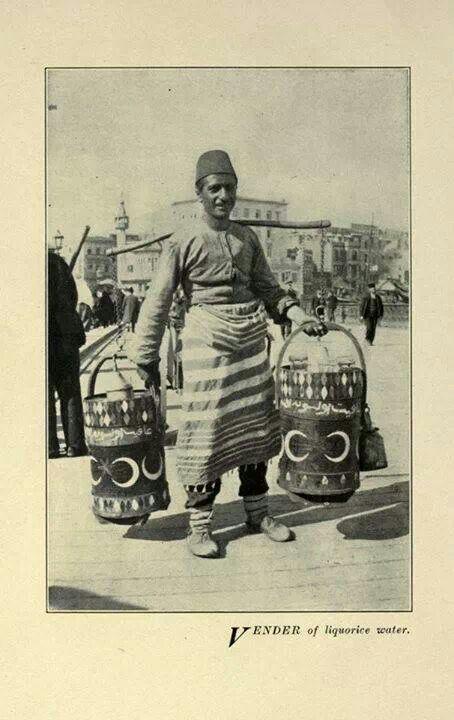 Osmanlı Dönemi Meyve Suyu Satıcısı...