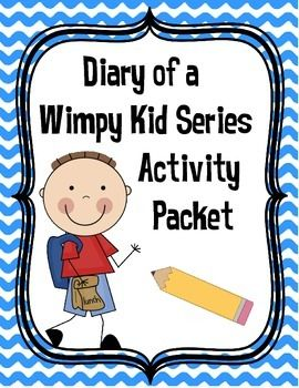 This all-encompassing 24 page literacy activity packet can be used with any of The Diary of a Wimpy Kid Series books. The printable packet includes comprehension, vocabulary, word work, and critical thinking activities.  The comprehension strategies include summarizing, sequencing, making connections, questioning, comparing, cause and effect and much more.