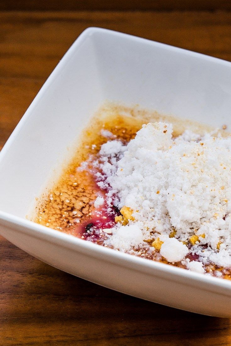 Scott Hallsworth serves up a stunning raspberry crème brûlée with a cooling coconut snow – the perfect make-ahead dessert for a dinner party.