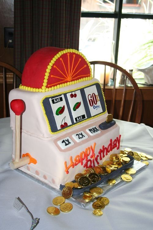 Best 25 Slot Machine Cake Ideas On Pinterest Poker Cake