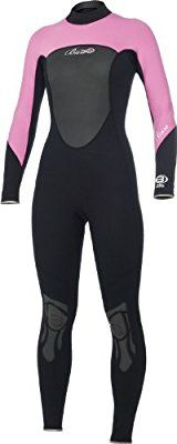 Bare 3/2 Ignite Full Diving Wetsuits - Womens Pink (10)