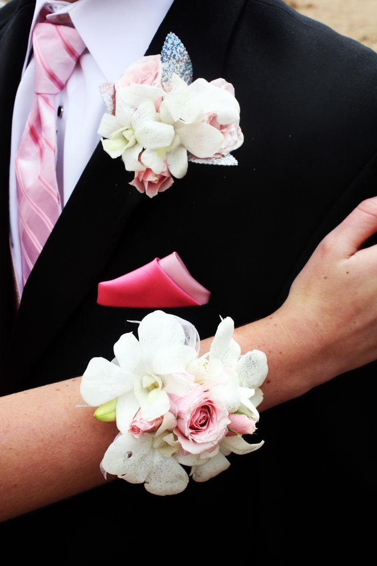 Pin by Pristine Floral on PROM | Corsage, White corsage ...