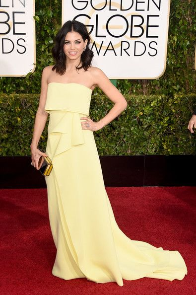 Jenna Dewan-Tatum Photos Photos - Actress Jenna Dewan-Tatum attends the 72nd Annual Golden Globe Awards at The Beverly Hilton Hotel on January 11, 2015 in Beverly Hills, California. - Arrivals at the Golden Globe Awards — Part 2