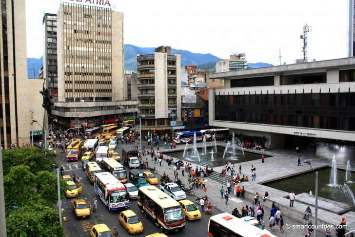Avenida La Playa, Medellin, Colombia.