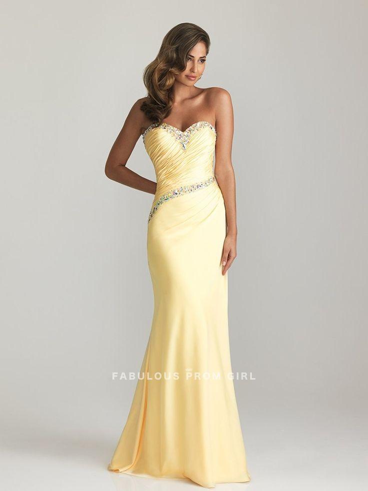 Trumpet / Mermaid Sweetheart  Beading  Sleeveless Floor-length Chiffon Prom Dresses / Evening Dresses