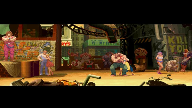 Street Fighter Alpha 2 - Final Fight Stage