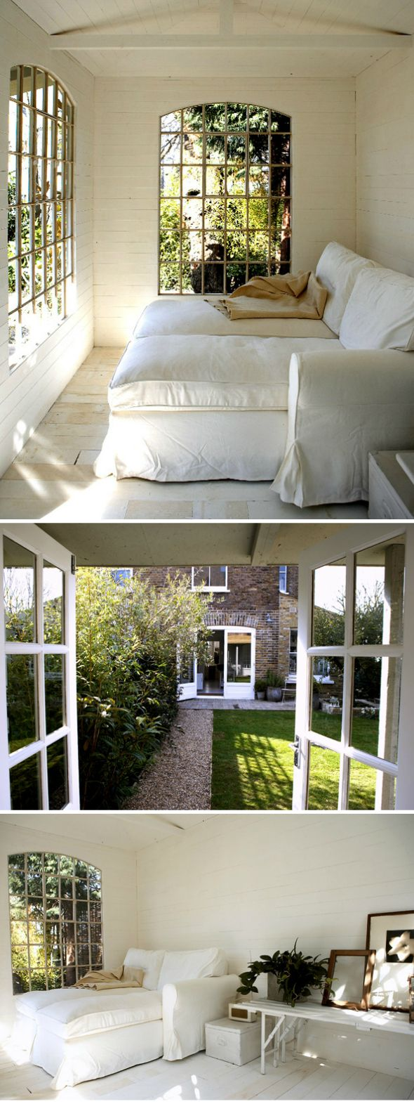 peaceful, white and simpleNooks Seven Spoons, Reading Sun Room, Sun Porches, Lounges, Spoons Blog, Reading Nooks, Future Room, Reading Room, Decor Awesome