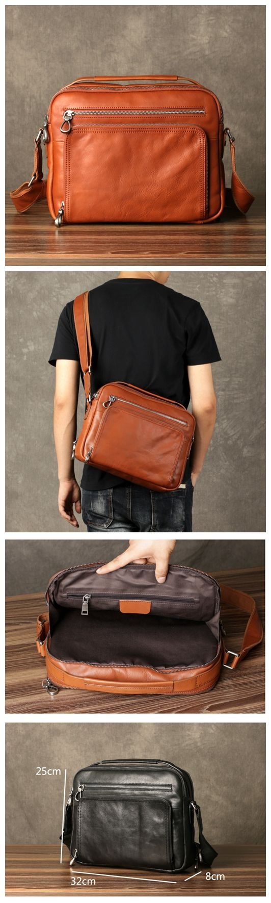 LEATHER SATCHEL, LEATHER BRIEFCASE, MENS WEEKEND BAG, MENS SATCHEL, LEATHER SHOULDER BAG