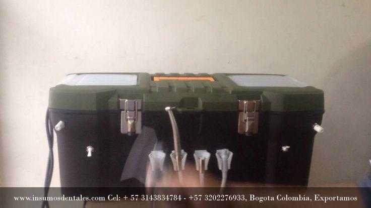 Observe El video de la Unidad Odontologica Portatil Draco en YouTube Busca Unidad Odontologica Portátil DRACO, Un año de garantía. Somos FABRICANTES-EXPORTAMOS Comuniquese Con Nosotros Cel: 3143834784 - 3202276933 WHATSAPP: +573143834784, www.insumosdentales.com Bogota-Colombia Facebook : https://www.facebook.com/insumos.dentales.colombia.oficial Correo: boletines@insumosdentales.com Pagina WEB: www.insumosdentales.com Google: https://plus.google.com/…/10…/+InsumosdentalesColombia/posts