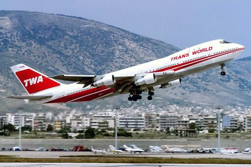 Trans World Airlines (TWA) Boeing 747-100