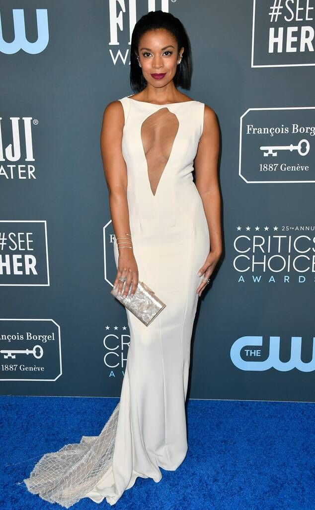 Susan Kelechi Watson From Critics Choice Awards 2020 Red Carpet Fashion E News In 2020 Red Carpet Fashion Fashion Red Carpet