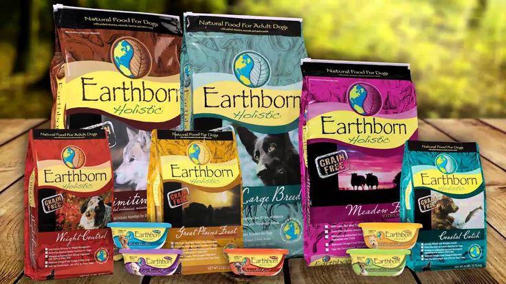 Earthborn holistic natural grainfree dog formulas have